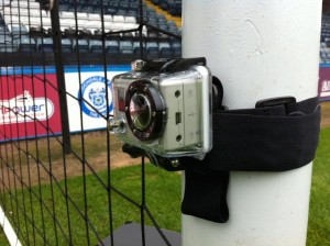 GoPro HD Hero on the ball!
